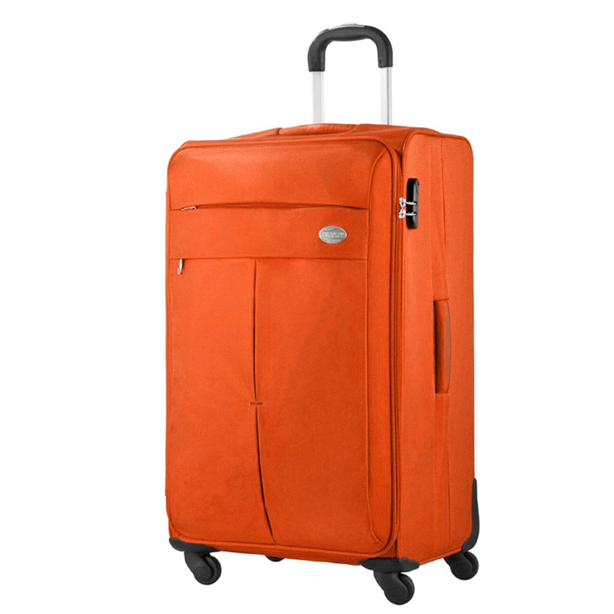 american tourister samsonite colora spinner 76cm trolley koffer orange neu ebay. Black Bedroom Furniture Sets. Home Design Ideas