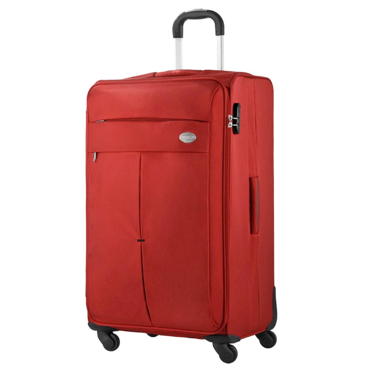american tourister samsonite colora spinner 76cm trolley koffer rot neu ebay. Black Bedroom Furniture Sets. Home Design Ideas