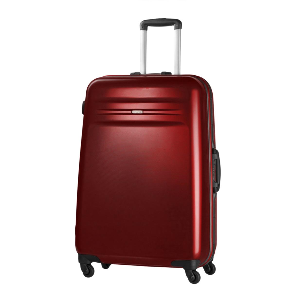american tourister samsonite thunderlite hartschalen trolley koffer 65cm rot neu ebay. Black Bedroom Furniture Sets. Home Design Ideas