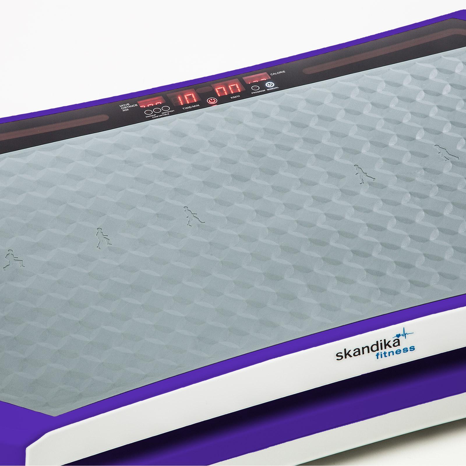 Skandika vibration plate 900 plateforme vibrante oscillante de salon lila neu - Plateforme oscillante vibrante ...