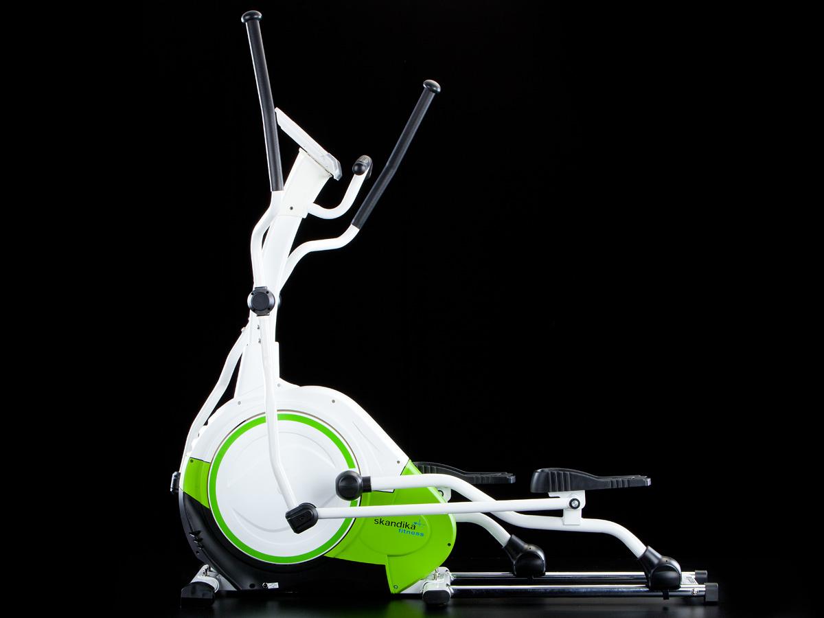 skandika elliptical bike jupiter crosstrainer high end ellipsentrainer green neu ebay. Black Bedroom Furniture Sets. Home Design Ideas