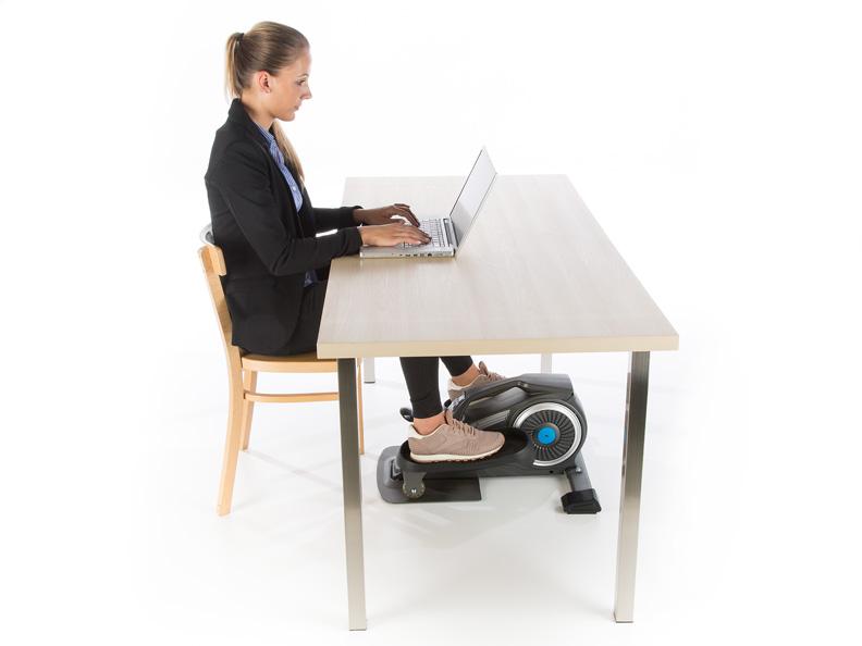 Skandika Sit Fit Elliptical Mini Leg Crosstrainer Desk