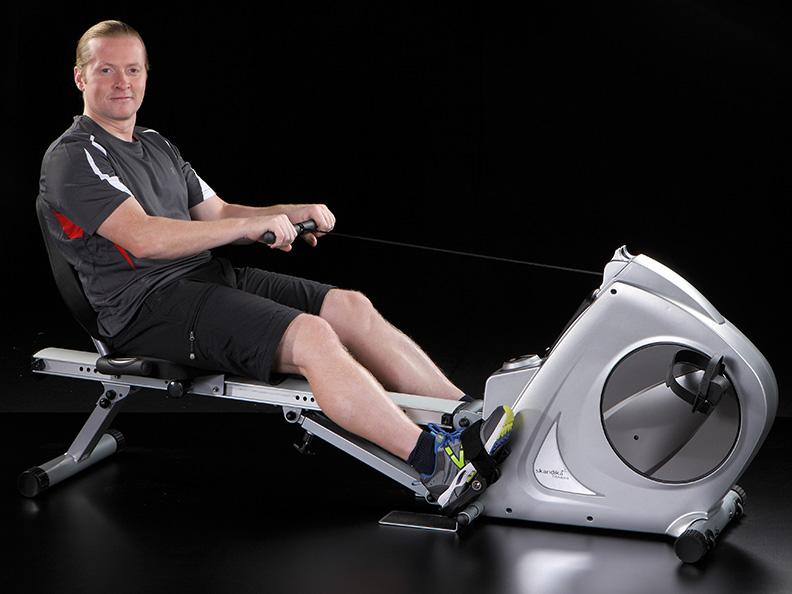 skandika fitness appareil 3en1 rameur v lo semi allong musculation neuf ebay. Black Bedroom Furniture Sets. Home Design Ideas