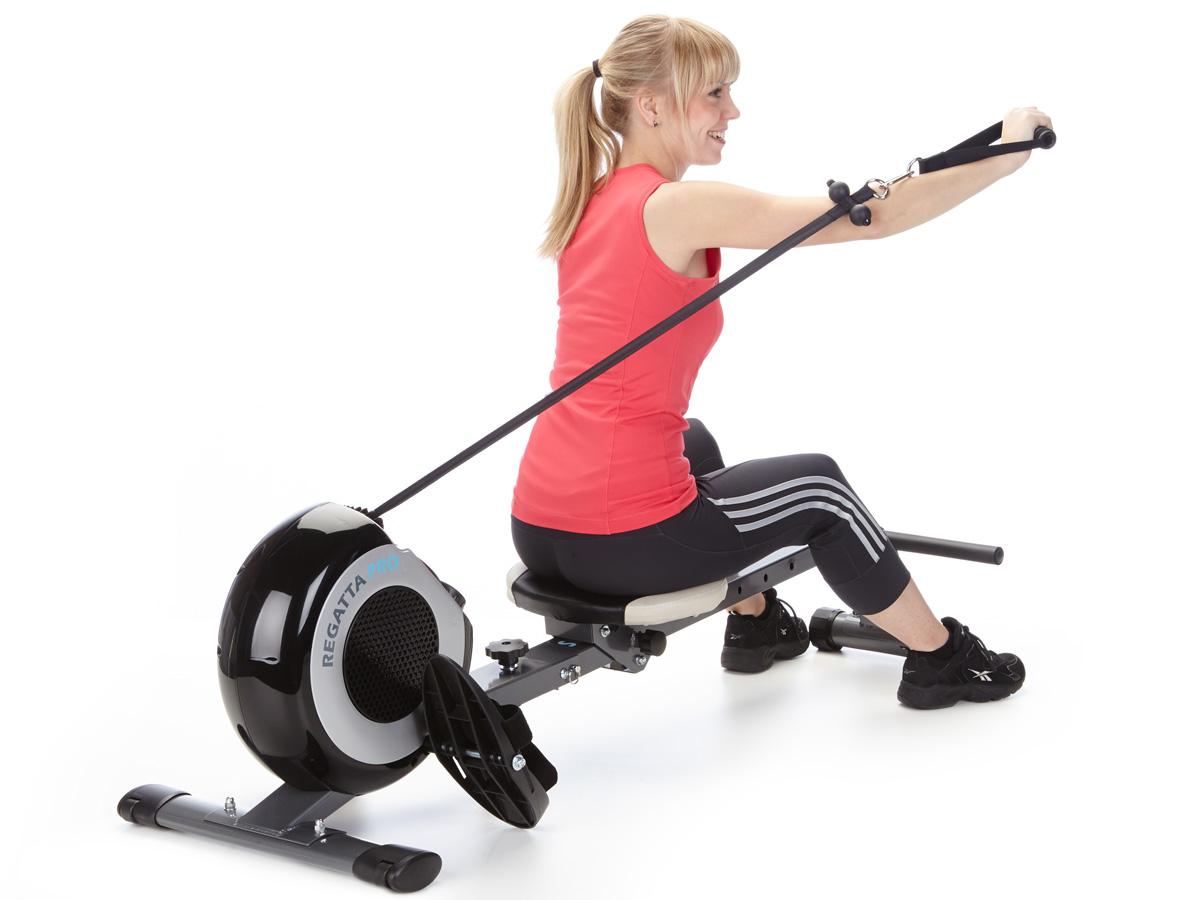 Skandika Regatta Pro 5 Neptun Rowing Machine Lcd Foldable
