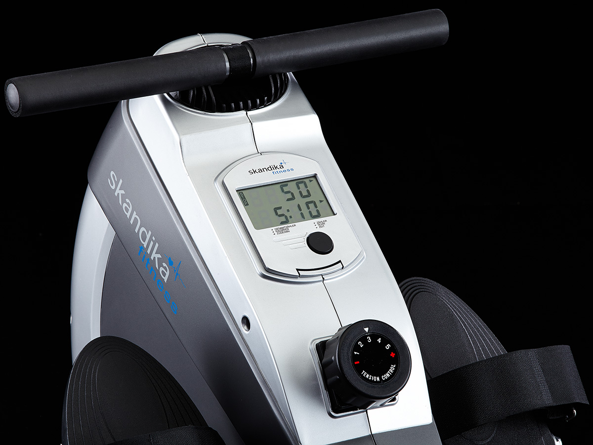 Skandika Regatta Oxford Pro Rowing Machine Foldable Lcd