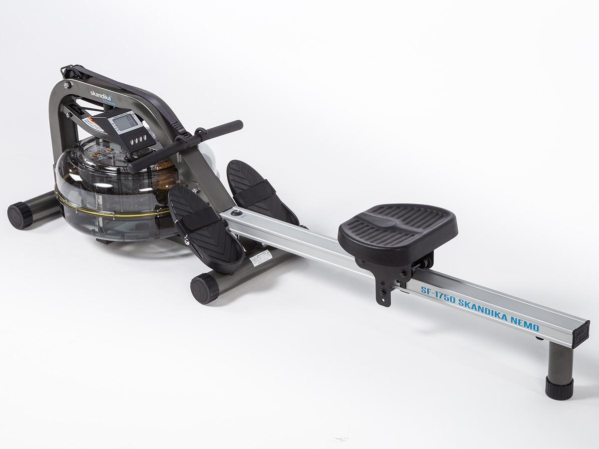 skandika nemo rameur eau resistance ajustable poids max 140 kg lcd neuf. Black Bedroom Furniture Sets. Home Design Ideas