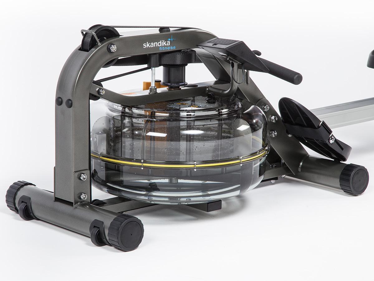skandika nemo rameur eau resistance ajustable poids max 140 kg lcd neuf ebay. Black Bedroom Furniture Sets. Home Design Ideas