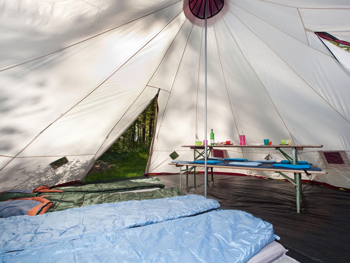 Skandika tipii 300 tente camping tipi indien 12 pers 3m hauteur neuf ebay - Hauteur sous plafond 3m ...