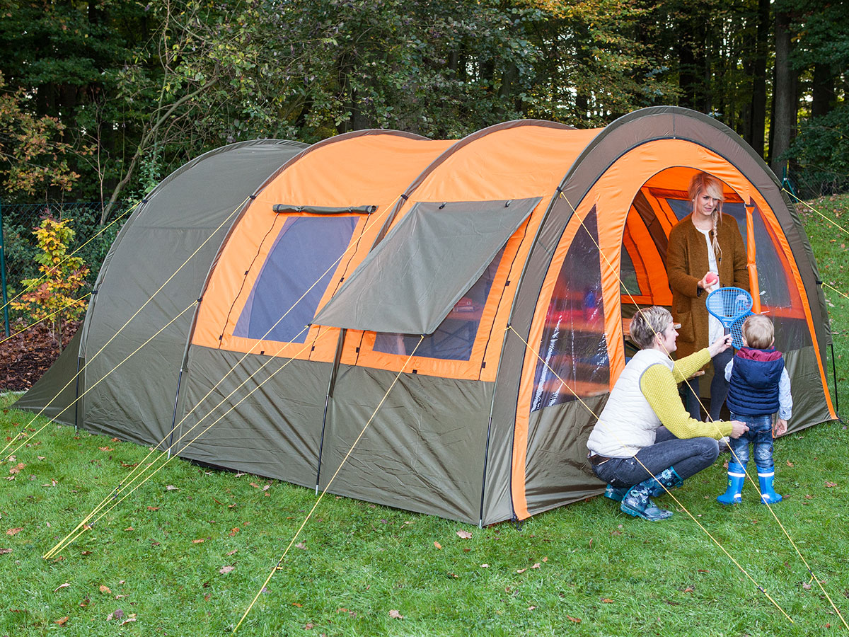 Skandika Kemi 4 Person Man Family Tunnel Tent 3000mm Water