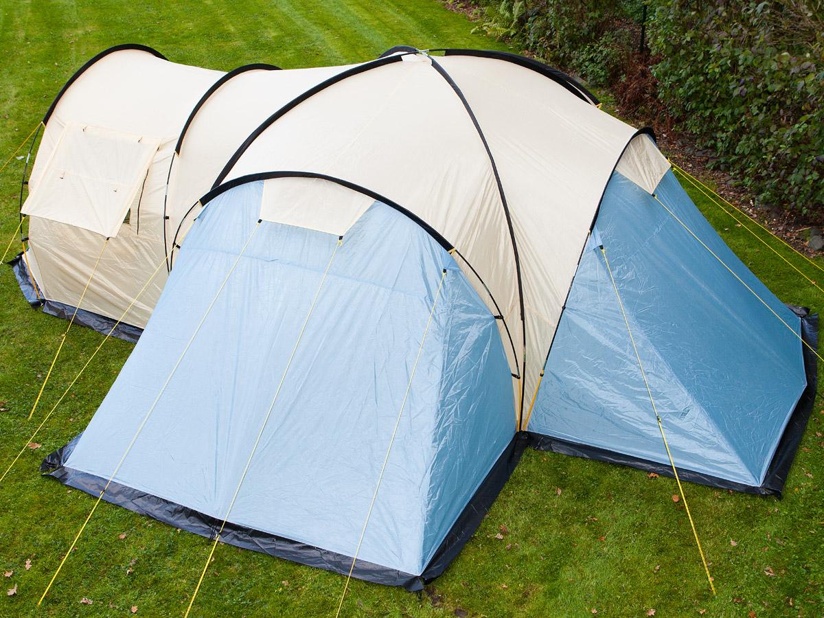 skandika Toronto 6 Person Family Dome Camping Tent Large ...