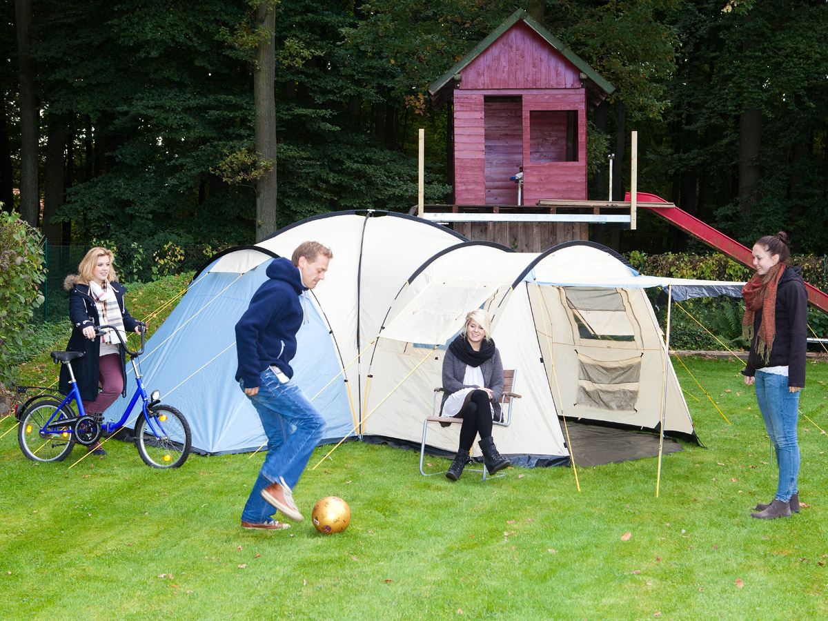 Family Camping Tents : Skandika toronto person family dome camping tent large