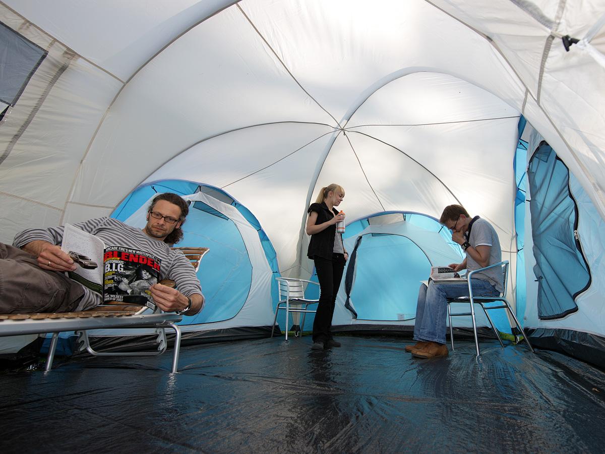 Zelt Toronto 6 : Skandika toronto person family dome camping tent large