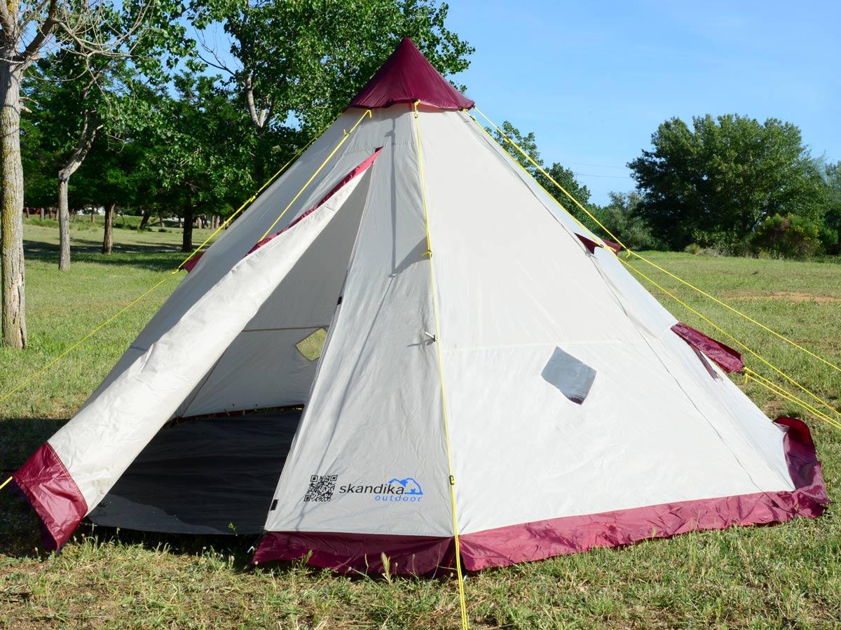 skandika Teepee 200 Camping Party Festival Tent 2 Metre ...