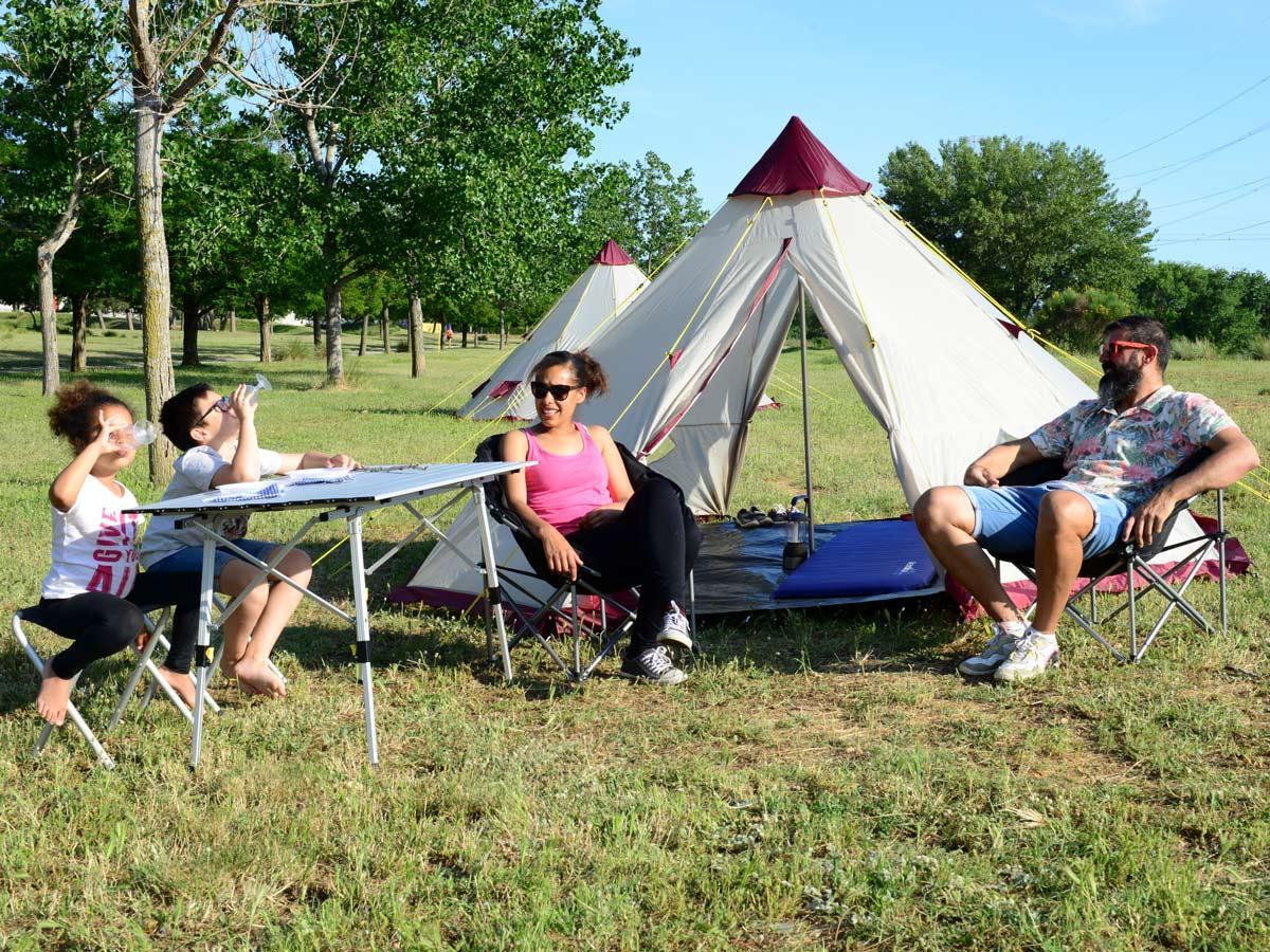 skandika Teepee 200 Camping Party Festival Tent 2 Metre Height 3000mm Column New