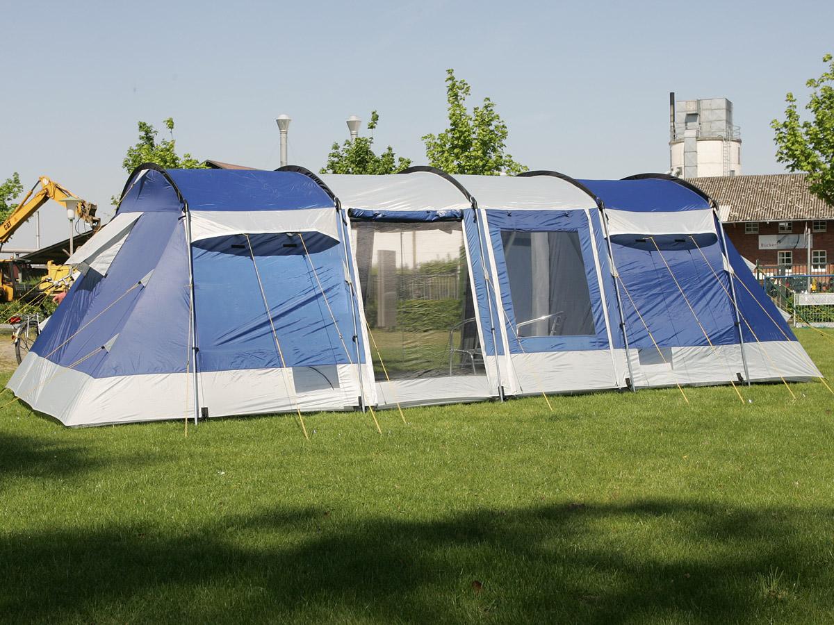 Skandika montana 8 person man family group tunnel tent for Montana tent company