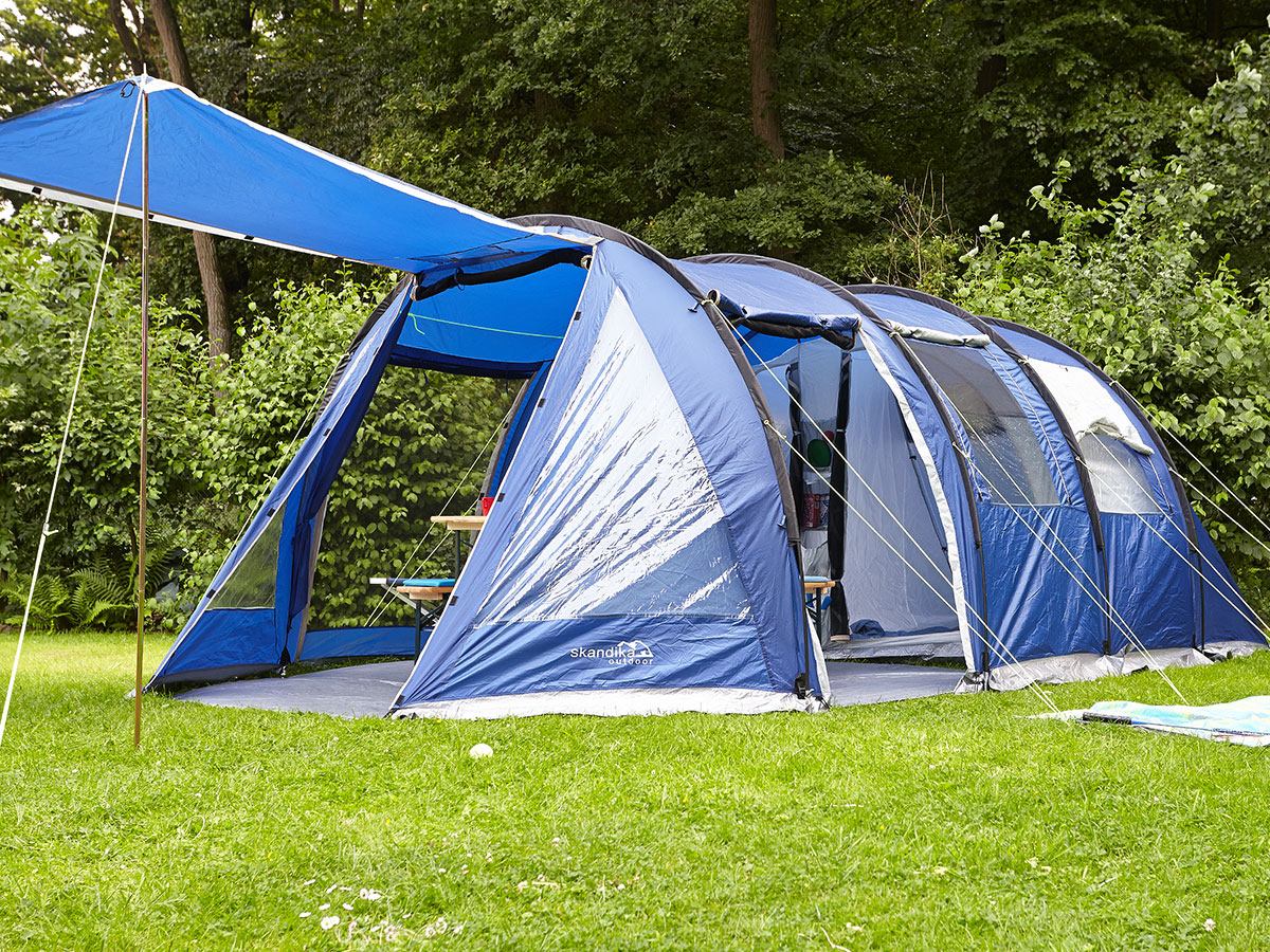 Family Camping Tents : Skandika canyon ii person man family tent tunnel large