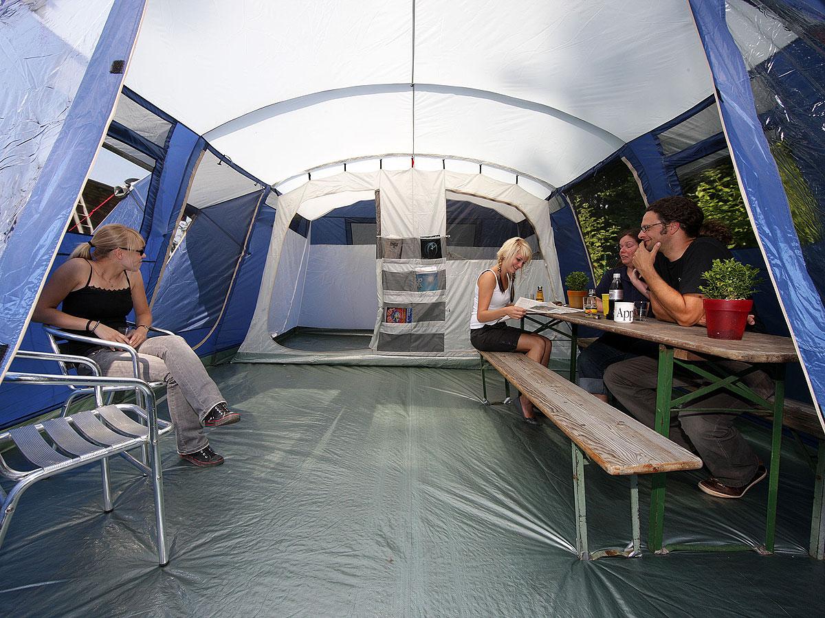 Skandika Milano 6 Pers Tente Camping Familiale 580x410