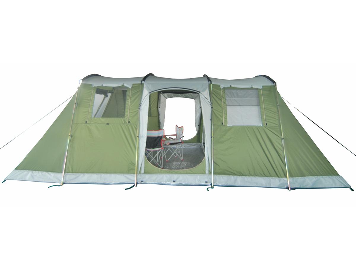 skandika nizza 6 pers tente familiale camping 574x400cm neuf ebay. Black Bedroom Furniture Sets. Home Design Ideas