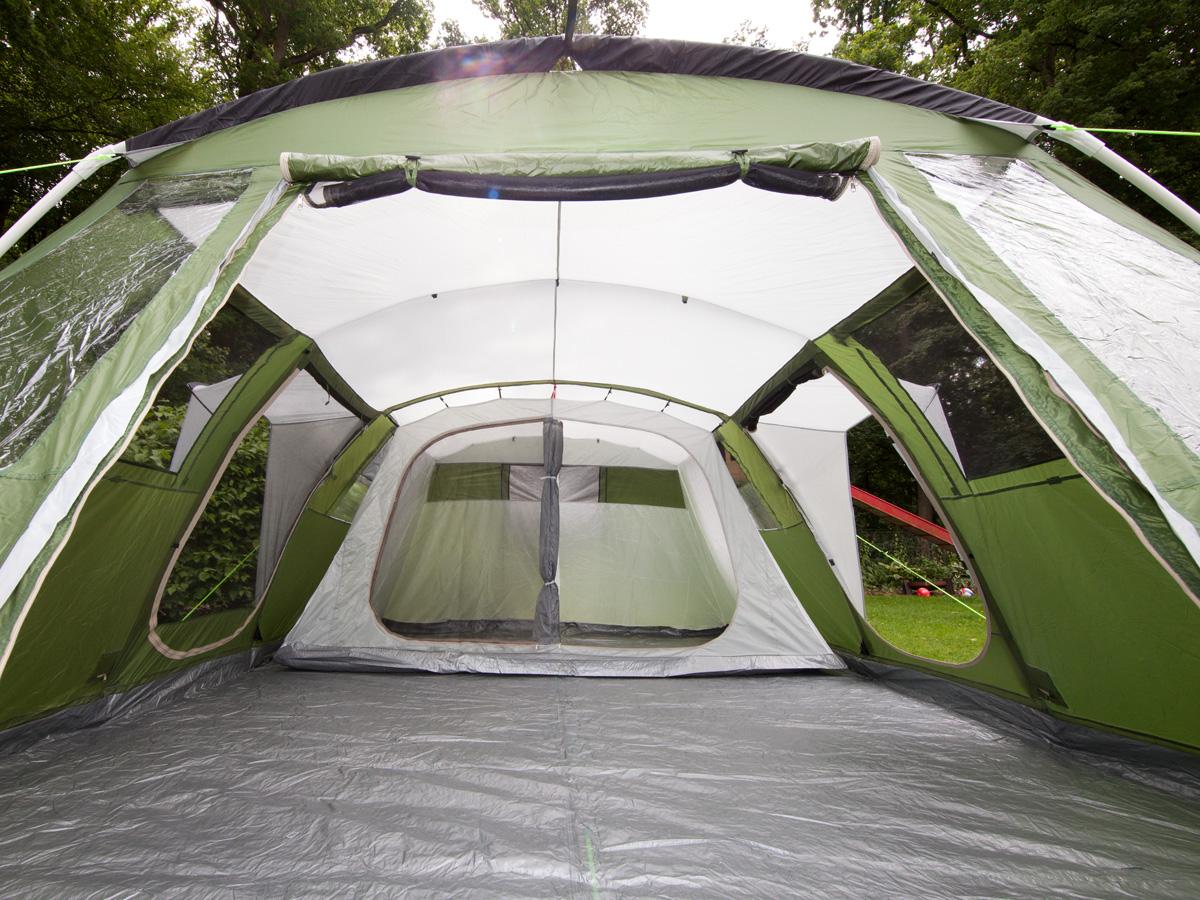 Skandika Nizza 6 Personen Familienzelt Camping Tunnel Moskitonetz