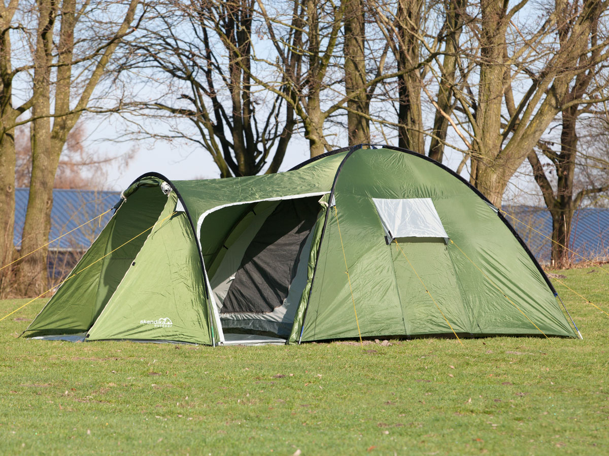 Skandika Vastervik 4 Person Man Dome Camping Tent 5000mm