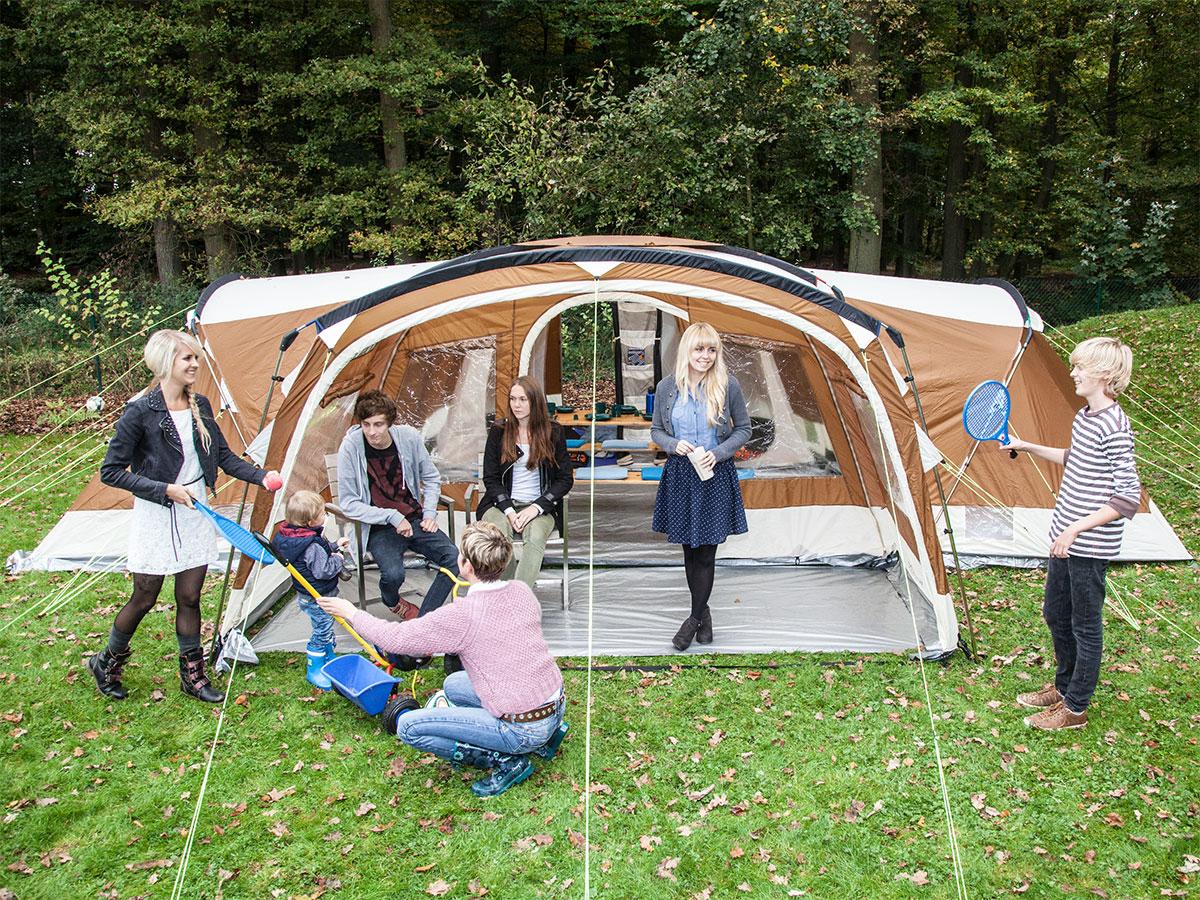 skandika Nimbus 12 Person/Man XL Family Tent 4 Sleeping Cabins 2 Entrances New & skandika Nimbus 12 Person/Man XL Family Tent 4 Sleeping Cabins 2 ...