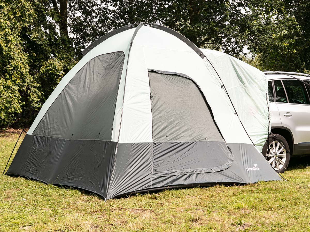 Skandika Pitea Suv Tent Car Awning 4 Person Man Self Standing Sewn In Floor New 4260520876998 Ebay