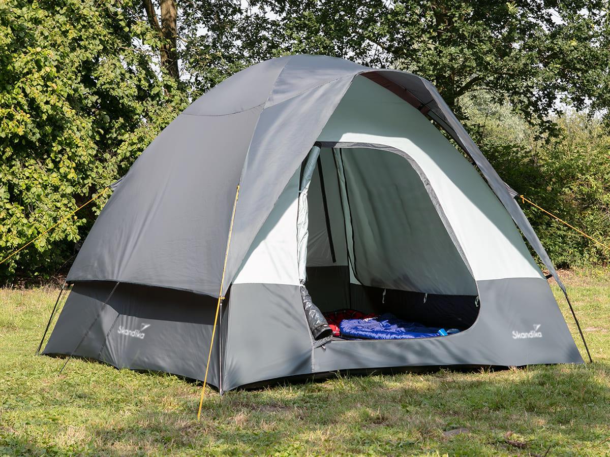 Details zu Skandika Pitea SUV Fahrzeug Auto Vorzelt 4 Personen freistehend NEU