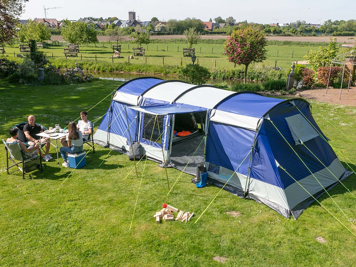 Skandika Montana 8 Sleeper Camping Family Tent 6 7 8 ...