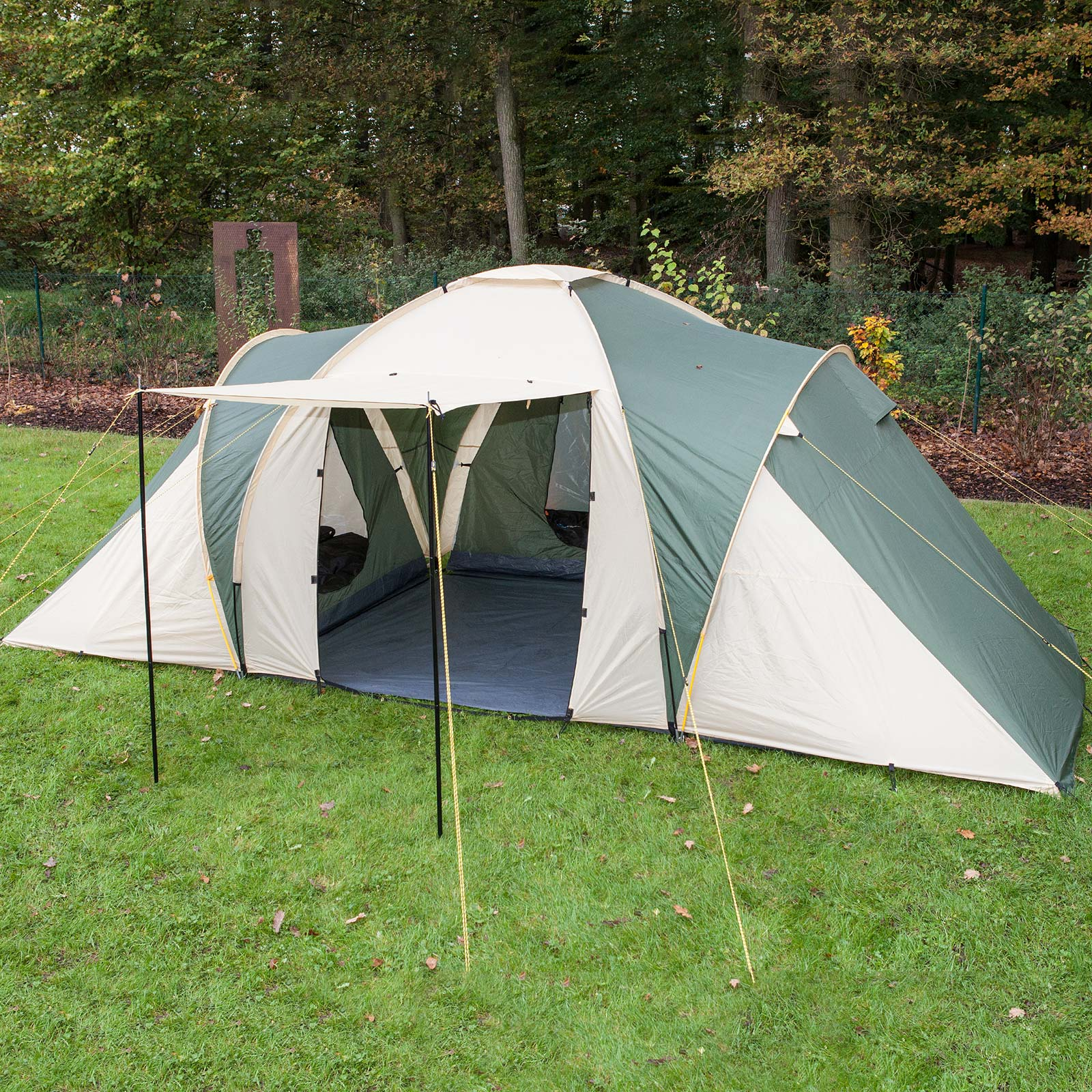OUR TOP PICK & Skandika Silverstone 6 Berth XXL Group/family Tent Sewn in ...
