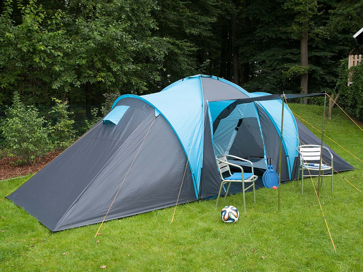 Camping Zelt 8 Mann : Skandika hammerfest person man family tent camping dome