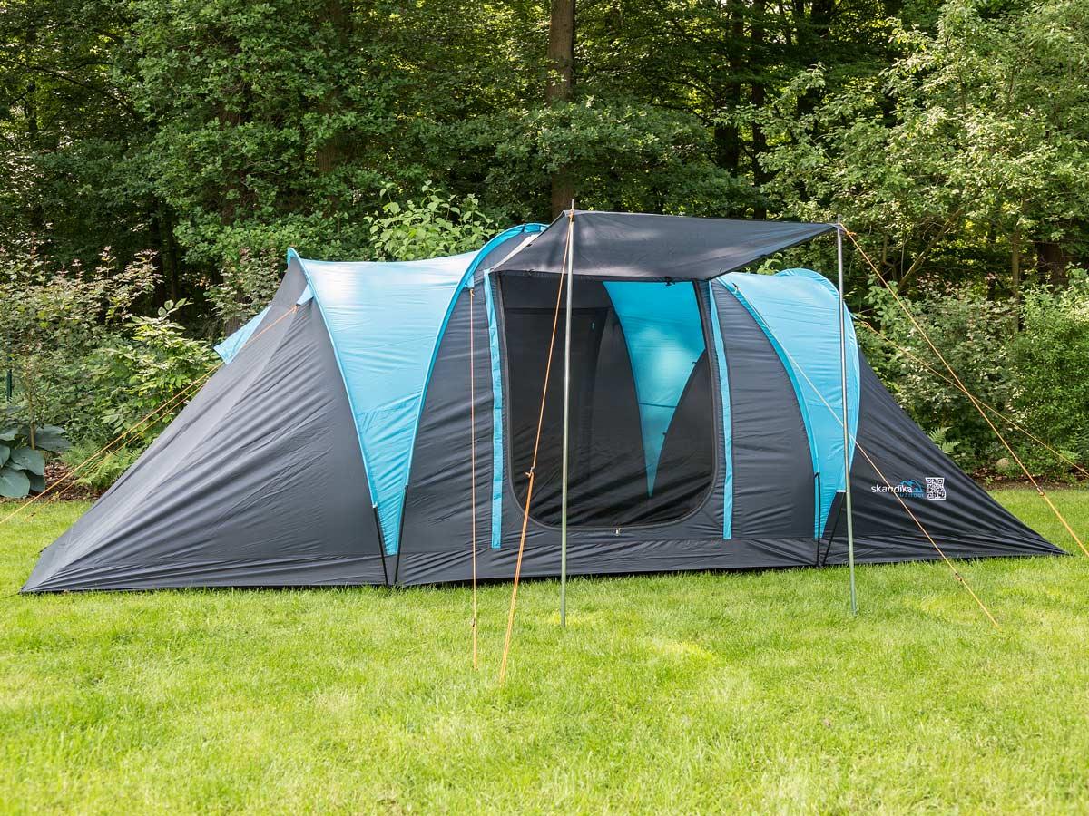 skandika Hammerfest 4 Person/Man Family Tent Sewn-In Floor ...