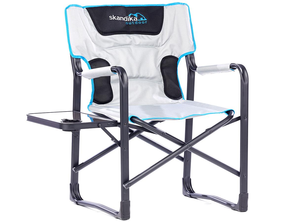 skandika campingstuhl deluxe mit klapptisch klappstuhl. Black Bedroom Furniture Sets. Home Design Ideas