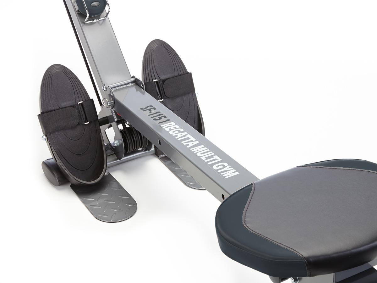 skandika Regatta Multi Gym Poseidon Rudergerät Fitness klappbar Max.110 Kg Neu