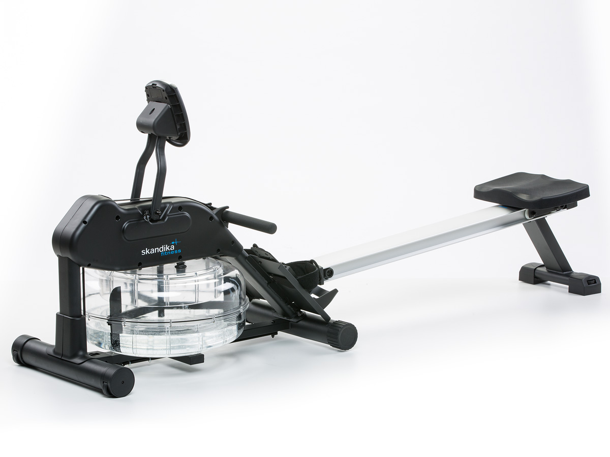 skandika nemo ii rameur eau resistance ajustable poids max 150 kg lcd neuf ebay. Black Bedroom Furniture Sets. Home Design Ideas