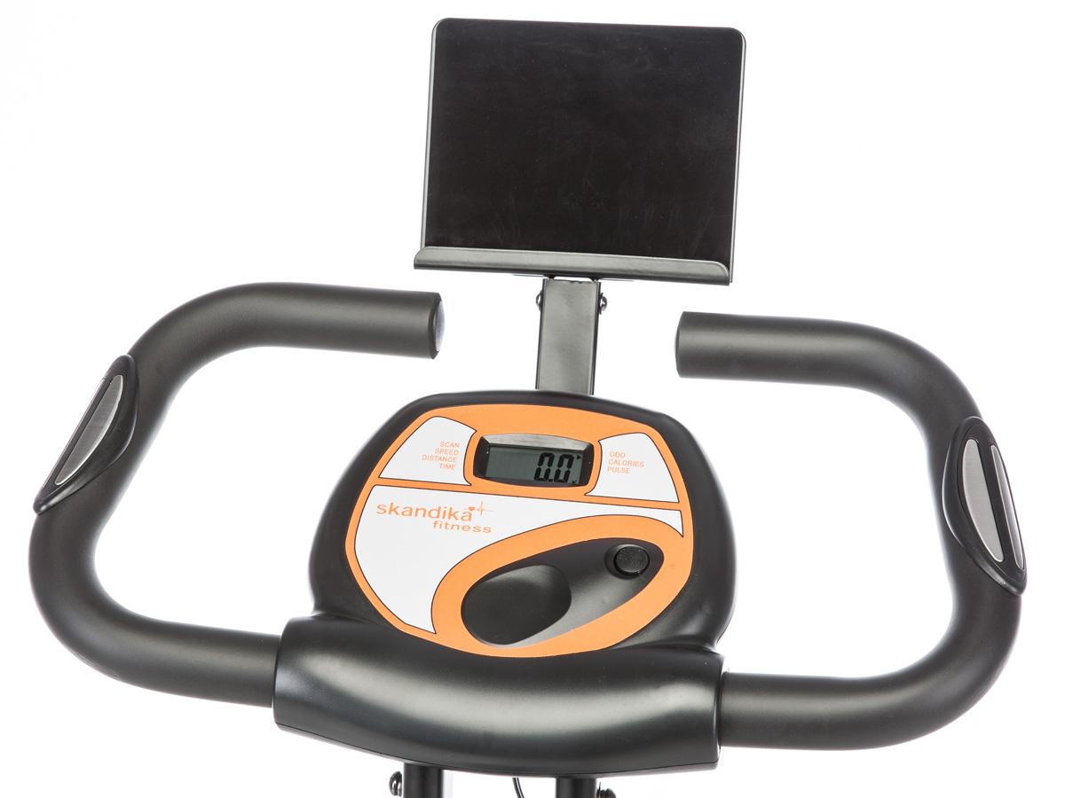 skandika Foldaway X-1000 PLUS bicicleta estática plegable Bluetooth negra nueva